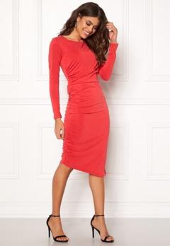 SELECTED FEMME Helen LS Dress True Red Bubbleroom.fi