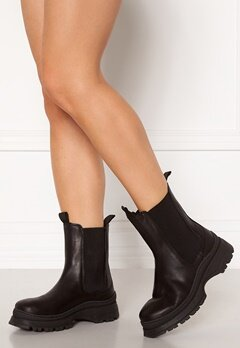 SELECTED FEMME Lucy Leather Chelsea Boot Black Bubbleroom.fi