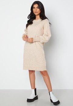 SELECTED FEMME Lulu LS Knit Dress Birch bubbleroom.fi