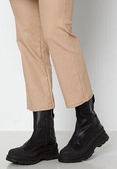 SELECTED FEMME Luna Leather Boot Black Bubbleroom.fi