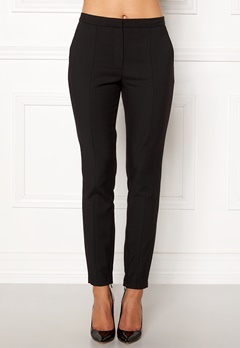 SELECTED FEMME Muse Cropped MW Pant Black Bubbleroom.fi