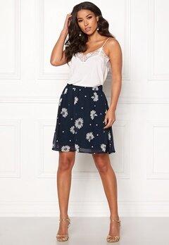SELECTED FEMME Oriana MW Short Skirt Dark Sapphire Bubbleroom.fi