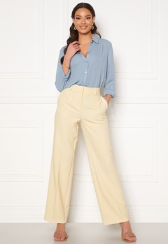 SELECTED FEMME Rita MW Wide Pant Birch Bubbleroom.fi
