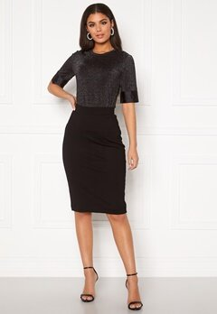 SELECTED FEMME Shelly MW Pencil Skirt Black Bubbleroom.fi