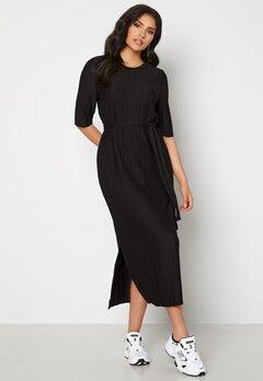 SELECTED FEMME Terle 2/4 Midi Plisse Dress Black Bubbleroom.fi