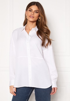 SELECTED FEMME Trixy LS Shirt Snow White Bubbleroom.fi