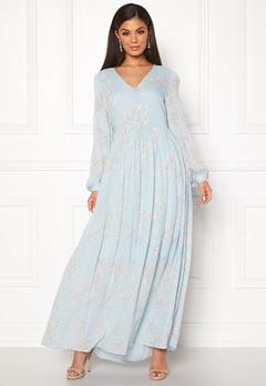SELECTED FEMME Zamba L/S Maxi Dress Plein Air Bubbleroom.fi