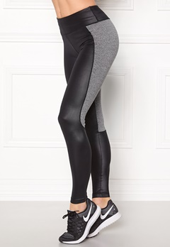 Shape Me Up Freja Tights Black/Grey Melange Bubbleroom.fi