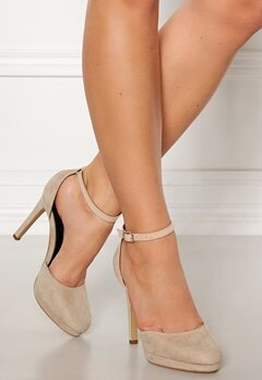 Truffle Shine II High Heel Pumps Nude Bubbleroom.fi