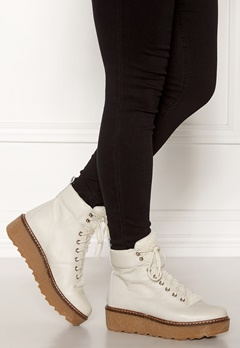 SHOE THE BEAR Bex leather Boots 120 White Bubbleroom.fi