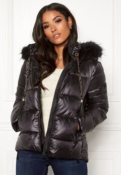 Guess Sienna Jacket Jet Black Bubbleroom.fi