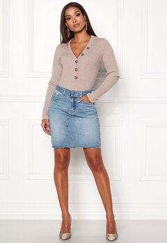 ONLY Signe Short Denim Skirt Light Blue Denim Bubbleroom.fi