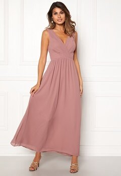 Sisters Point Gally Maxi Dress 587 Old Rose Bubbleroom.fi