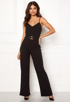 Sisters Point Galma Jumpsuit 001 Black/Gold Bubbleroom.fi