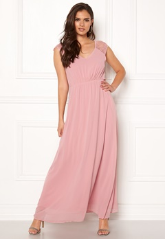 Sisters Point Gimle Dress 586 Dusty Rose Bubbleroom.fi