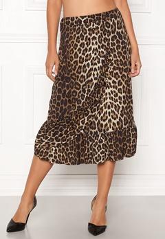 Sisters Point Givi Skirt 845 Leopard Bubbleroom.fi