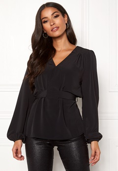 Sisters Point Nilla Blouse 000 Black Bubbleroom.fi