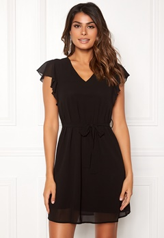 Sisters Point Nubi Dress 000 Black Bubbleroom.fi