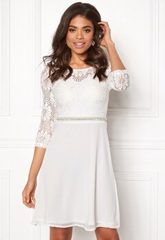 Sisters Point WD-30 LS Dress Cream Bubbleroom.fi