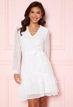 Sisters Point WD Dress 115 Cream Bubbleroom.fi