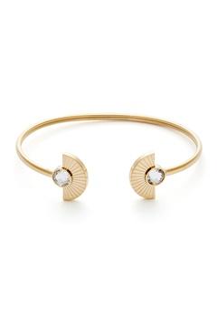 BY JOLIMA Skiathos Bracelet Crystal Gold Bubbleroom.fi