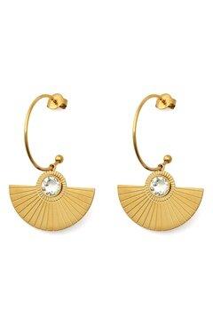 BY JOLIMA Skiathos Earring Pendant Gold Bubbleroom.fi