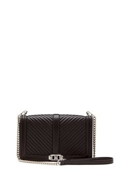 Rebecca Minkoff Slim Love Crossbody Bag Black Bubbleroom.fi