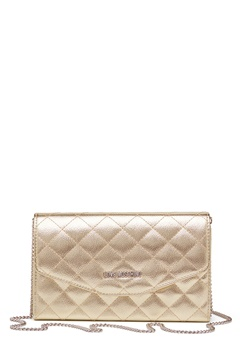Love Moschino Small Bag With Chain 901 Gold Bubbleroom.fi