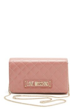 Love Moschino Small Quilted Chain Bag Pink Bubbleroom.fi