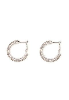 SNÖ of Sweden Doreen Ring Earring Silver/Clear Bubbleroom.fi