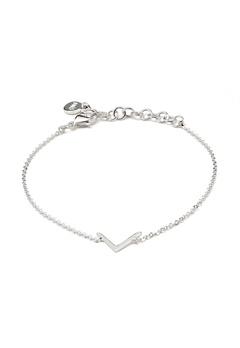 SNÖ of Sweden Path Chain Bracelet Silver Bubbleroom.fi