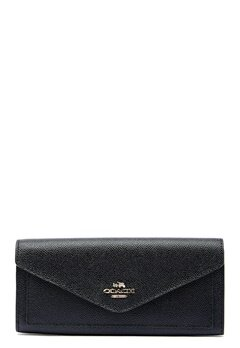 COACH Soft Wallet LIBLK Black Bubbleroom.fi