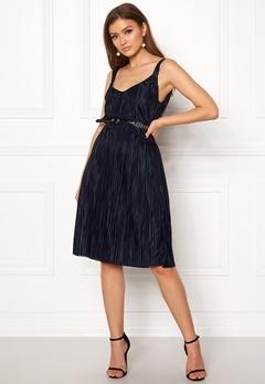 VILA Solana Strap Dress Total Eclipse Bubbleroom.fi