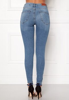 VERO MODA Sophia HW Skinny Jeans Light Blue Denim Bubbleroom.fi