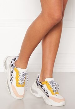 SoWhat 528 Sneakers White/Yellow Bubbleroom.fi