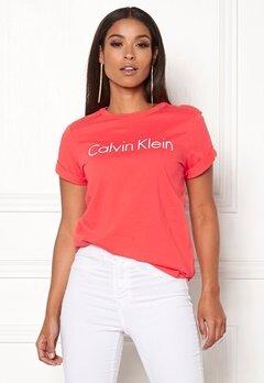 Calvin Klein S/S Crew Neck LFX Fire Lily Bubbleroom.fi