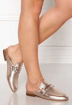 Steve Madden Kera Mule Leather Shoes Rose Gold Bubbleroom.fi