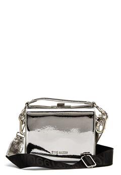 Steve Madden Story Handbag Silver Metallic Bubbleroom.fi