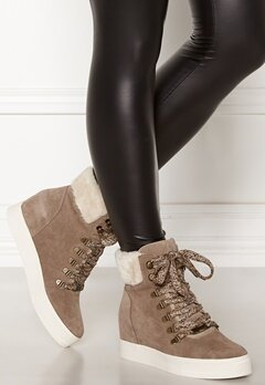 Steve Madden Windy Suede Boots Taupe Bubbleroom.fi