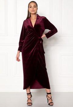 Stylein Taylor Dress Plum Bubbleroom.fi