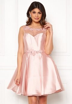 SUSANNA RIVIERI Embroidered Dream Dress Blush Bubbleroom.fi