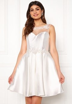 SUSANNA RIVIERI Embroidered Dream Dress Ivory Bubbleroom.fi