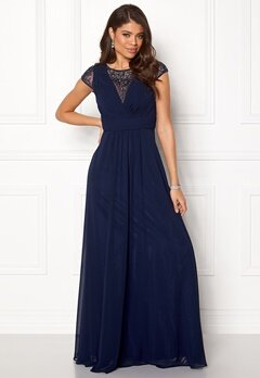 SUSANNA RIVIERI Ceremonial Dress Navy Bubbleroom.fi