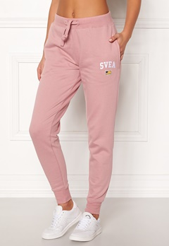 Svea Maj Sweat Pants 526 Dusty Pink Bubbleroom.fi