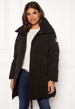 Svea Slim Fit Padded Jacket 900 Black Bubbleroom.fi