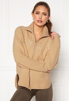 Svea W. Pile Turtle Zip Sweat 006 Sand Bubbleroom.fi