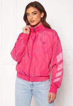 Svea W. Windbreaker Jacket 533 Bright Pink Bubbleroom.fi