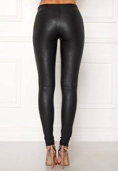 SELECTED FEMME Sylvia Leather Legging Black Bubbleroom.fi