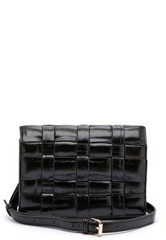 OBJECT Tani Braided PU Crossover Black Bubbleroom.fi
