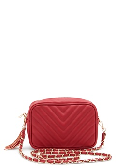 Gessy Tassel Chain Bag Red Bubbleroom.fi